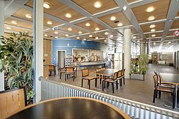 Cafétéria de l'hôpital orthopédique