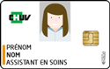 Badge assistant en soins