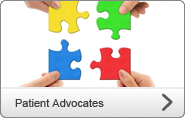 [Translate to English:] Patient advocates
